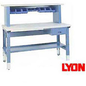 "60""W X 30""D Plastic Laminate Premium Grade Square Edge Workbench"