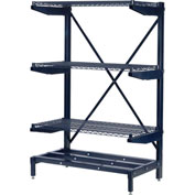 Corrosion Resistant Cantilever Rack - Adjustable Width Uprights & Frame (Only)
