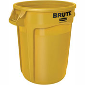Rubbermaid Brute® 2620 Trash Container 20 Gallon - Yellow
