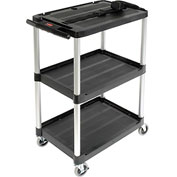 Rubbermaid Audio Visual Cart 33 x 19 x 42