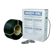 "Polypropylene Strapping 1/2"" x 9,000' Coil With 1,000 Seals"