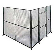Husky Rack & Wire EZ Wire Mesh Partition Component Panel 4'Wx8'H