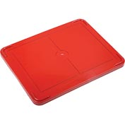 "Lid COV93000 for Plastic Dividable Grid Container, 22-1/2""L x 17-1/2""W, Red - Pkg Qty 3"