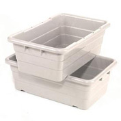 Cross Stack Nest Tote Tub TUB2516-8 -  25-1/8 x 16 x 8-1/2 White - Pkg Qty 6