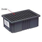 Quantum Conductive Dividable Grid Container Long Divider - DL93030CO, Sold Pack Of 6