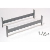 "Cantilever Rack Horizontal Brace Set, 60"" W, For 16' H Uprights, 16' H Uprights"