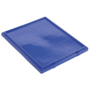 Akro-Mils Lid 35241 For Nest & Stack Tote 35240, Blue - Pkg Qty 3
