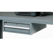 Utility Drawer For Two Shelf Steel Audio Visual & Instrument Carts