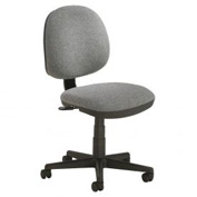 Office Chair - Fabric - Mid Back - Gray