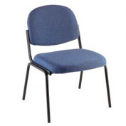 Stacking Guest Chair (Unassmbled) - Fabric - Blue - Pinehurst Collection