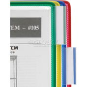 Tarifold® Paper Organizer Clip-On Index Tabs, 10/Pack