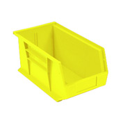 Quantum Plastic Stacking Bins QUS240 8-1/4 X 14-3/4 X 7 Yellow - Pkg Qty 12