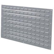 Louvered Wall Panel Without Bins 36x19 - Pkg Qty 4