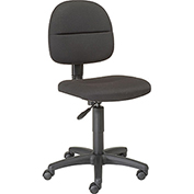 Futura Secretary Chair-Black