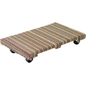 Akro-Mils® Premium Hardwood Dolly Fully Carpeted 900 Lb. Capacity RD3624AC3P