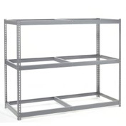 "Wide Span Rack 72""W x 24""D x 96""H With 3 Shelves No Deck 900 Lb Capacity Per Level"