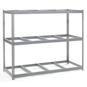 "Wide Span Rack 96""W x 36""D x 96""H With 3 Shelves No Deck 1100 Lb Capaity Per Level"