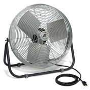 TPI F24TE,24 Inch Industrial Floor Fan 1/8 HP 2100 CFM