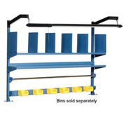 "60""W Riser Kit With Dividers, Shelves & LED Light Kit"