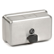 ASI® Stainless Soap Dispenser Horizontal - 0345