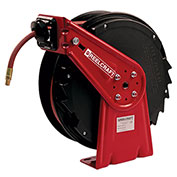 "Reelcraft RT650-OLP 3/8""x50' Composite Spring Retractable Reel Medium Duty w/ Hose"
