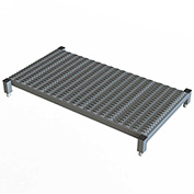 "48 X 24 Inch Adjustable Height Steel Work Platform - 5""H To 8""H"