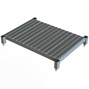 "36 X 24 Inch Adjustable Height Steel Work Platform - 9""H To 14""H"