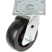 "Faultless Swivel Plate Caster 1461-5 5"" Polyolefin Wheel"