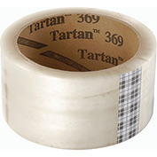 "3M™ Tartan® 369 Carton Sealing Tape 2"" x 110 Yds. 1.9 Mil Clear - Pkg Qty 36"