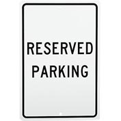 Aluminum Sign - Reserved Parking - .063mm Thick
