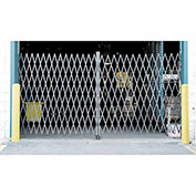 Double Folding Security Gate 8'W x 6-1/2'H