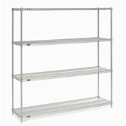 "Nexelate Wire Shelving 72""W X 18""D X 74""H"