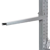 "Cantilever Rack Straight Arm With 2 Inch Lip, 48"" L , 600 Lbs Capacity"