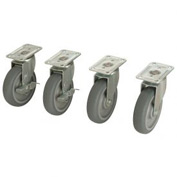Caster Set (2 Swivel/2 Locking)