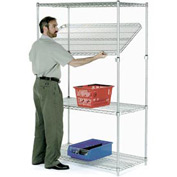 Quick Adjust Wire Shelving 48x14x54