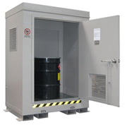 Outdoor Hazardous Chemical Storage Building - 2 Drum