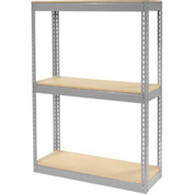 "Record Storage Rack Without Boxes 42""W x 15'D x 60'H"