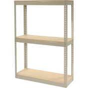 "Record Storage Rack Without Boxes 42""W x 15""D x 60""H"