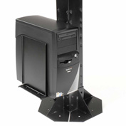 Computer CPU/UPS/Power Supply Holder - Black