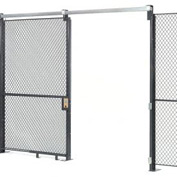 Wire Mesh Sliding Gate - 8x4