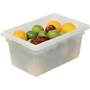 Rubbermaid 3504-00 White Plastic Box 5 Gallon 18 x 12 x 9 - Pkg Qty 6