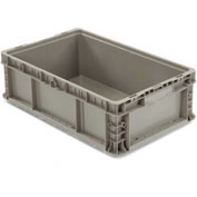 Straight Wall Container Solid - Stackable NRSO2415-09 - 24 x 15 x 9-1/2