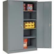 Global™ Storage Cabinet Assembled 48x24x78 Gray