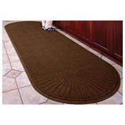 "Waterhog Grand Classic Mat Two Oval 6'W X 14'10""L Brown"
