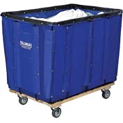 Best Value 16 Bushel Blue Vinyl Basket Bulk Truck