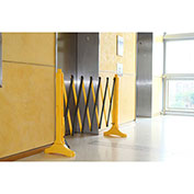 Xpandit® Expandable Barricade, Yellow & Black