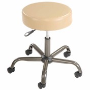 Antimicrobial Medical Stool - Vinyl - Beige