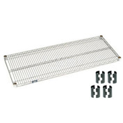 Nexel® Chrome Wire Shelf 72 x 18 with Clips