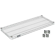 Poly-Z-Brite Wire Shelf 18x24 With Clips
