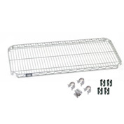 Nexel® Quick Adjust Shelf 36x14 with Clips & 4 Hooks